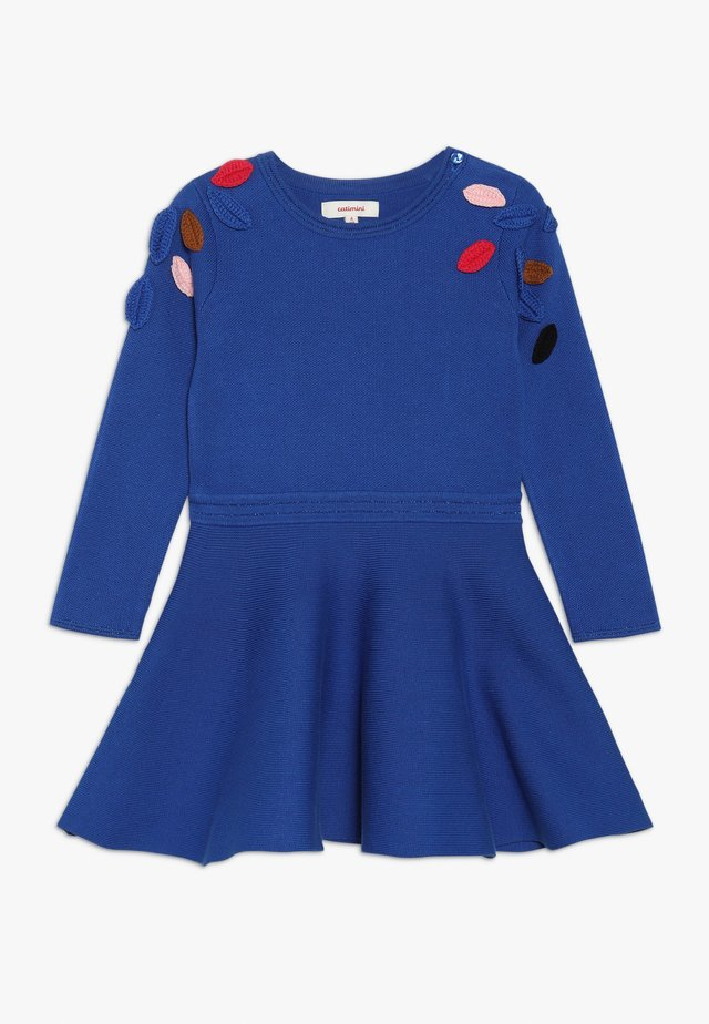ROBE TRICOT - Pletené šaty - bleu roi