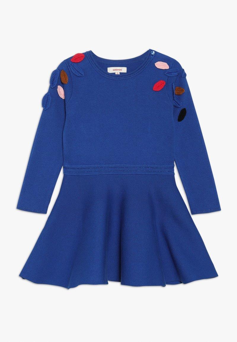 Catimini - ROBE TRICOT - Pletené šaty - bleu roi
