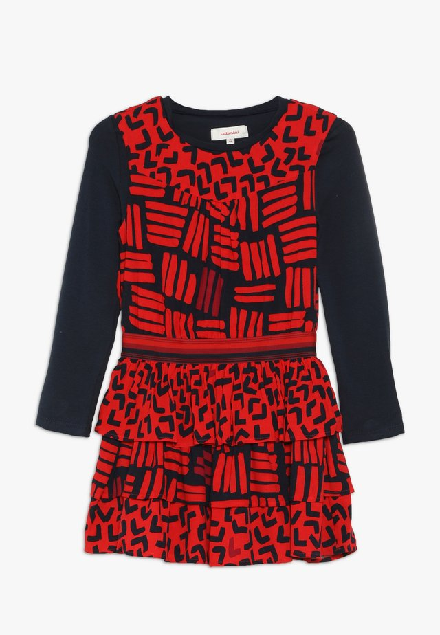 ROBE SET - Korte jurk - rouge