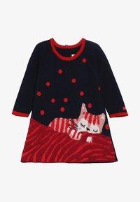 Catimini - BABY ROBE - Stickad klänning - minuit - 3
