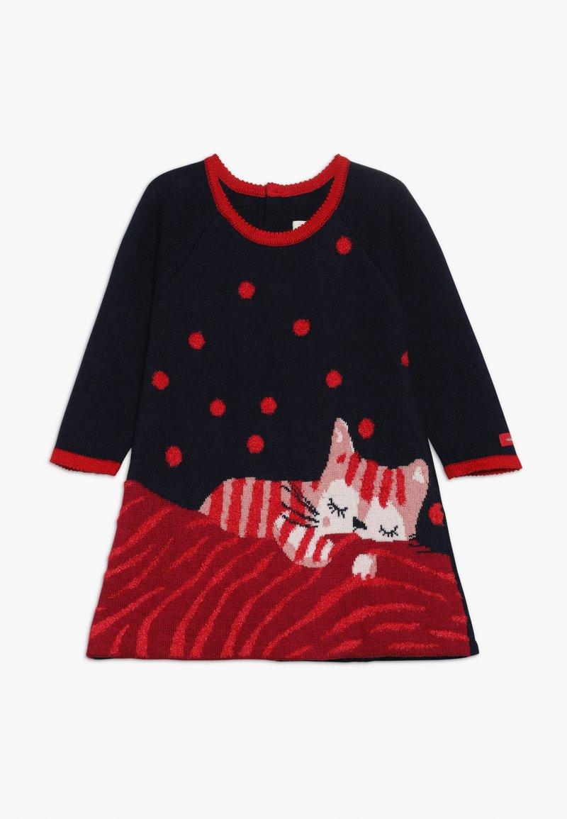 Catimini - BABY ROBE - Stickad klänning - minuit
