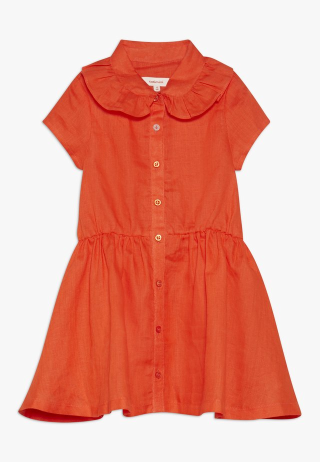 DRESS - Freizeitkleid - orange