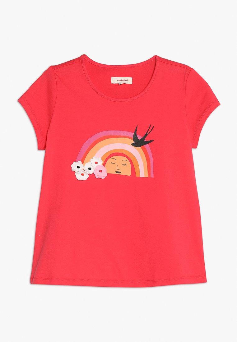 Catimini - Print T-shirt - grenadine