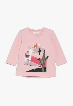 BABY TEE - Long sleeved top - rose poudre