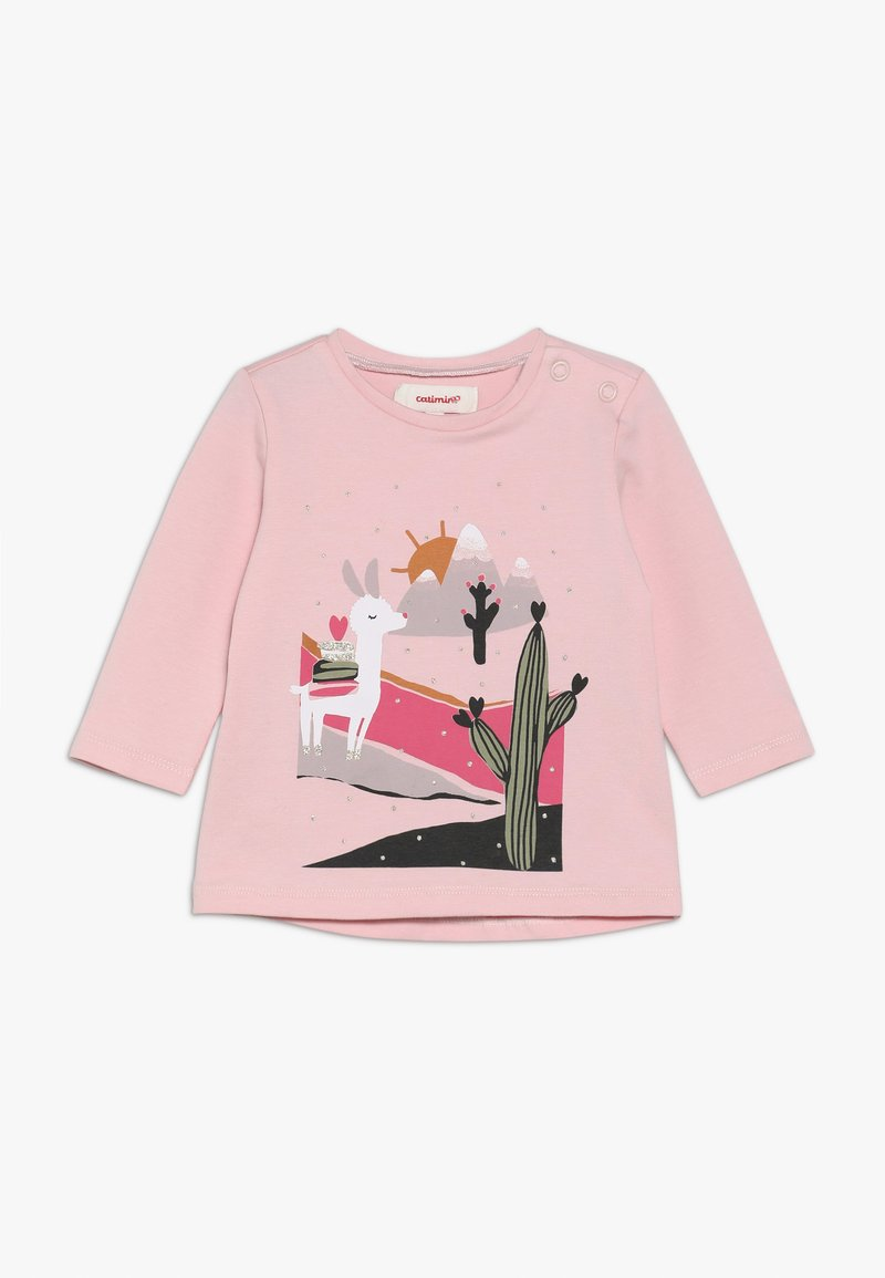 Catimini - BABY TEE - Long sleeved top - rose poudre