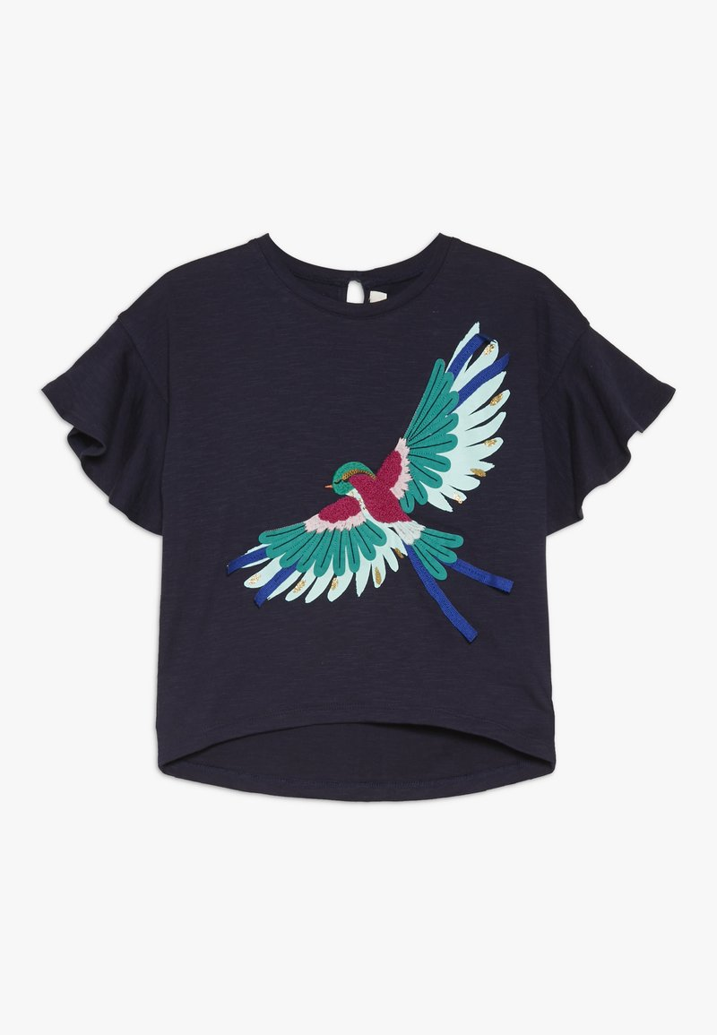 Catimini - TEE - T-shirt imprimé - navy
