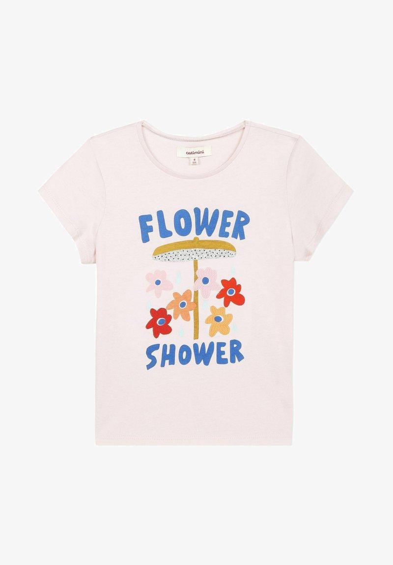Catimini - EMBROIDERY - T-shirt imprimé - light pink