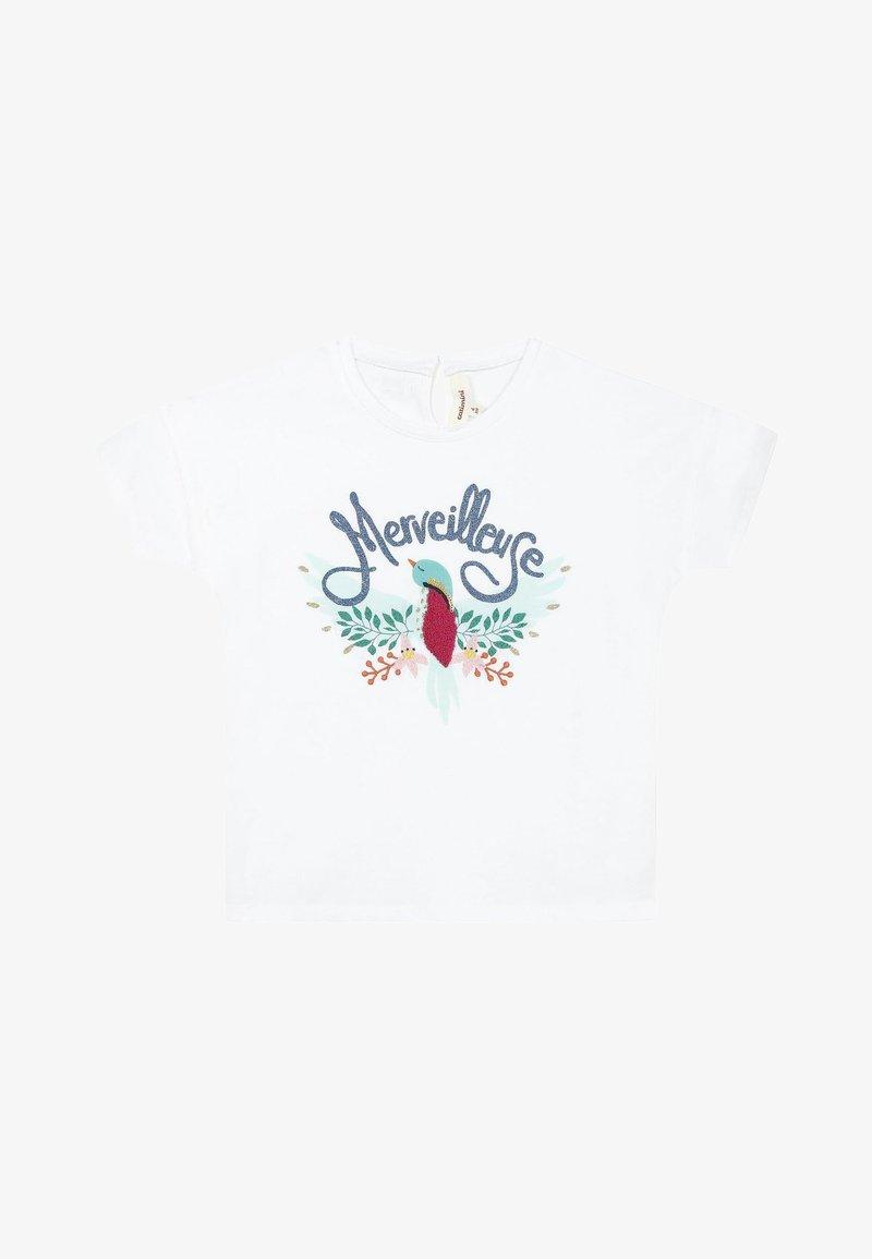 Catimini - 3DMARVELLOUS - T-shirt imprimé - white