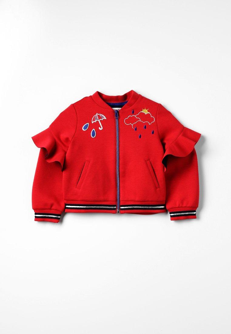 Catimini - MOLLET - Zip-up hoodie - vermillon