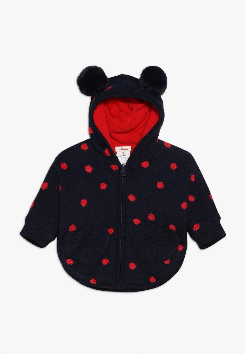 Catimini - BABY MANTEAU TRICOT - Light jacket - minuit