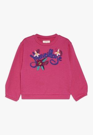 Sweatshirt - fuscia