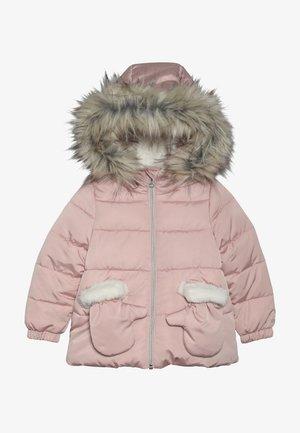 Zimní kabát - rose poudre