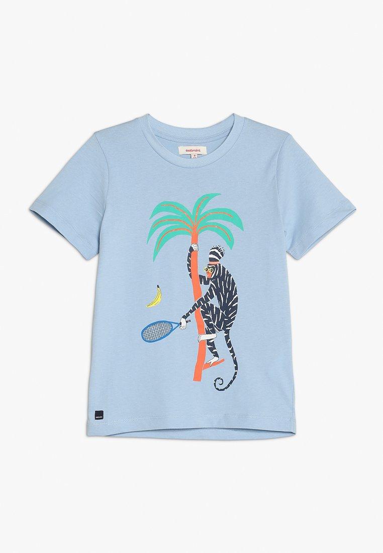 Catimini - TEE  - T-Shirt print - sky