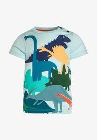 Catimini - TEE BABY - Camiseta estampada - aqua - 0