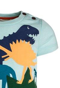 Catimini - TEE BABY - Camiseta estampada - aqua - 2