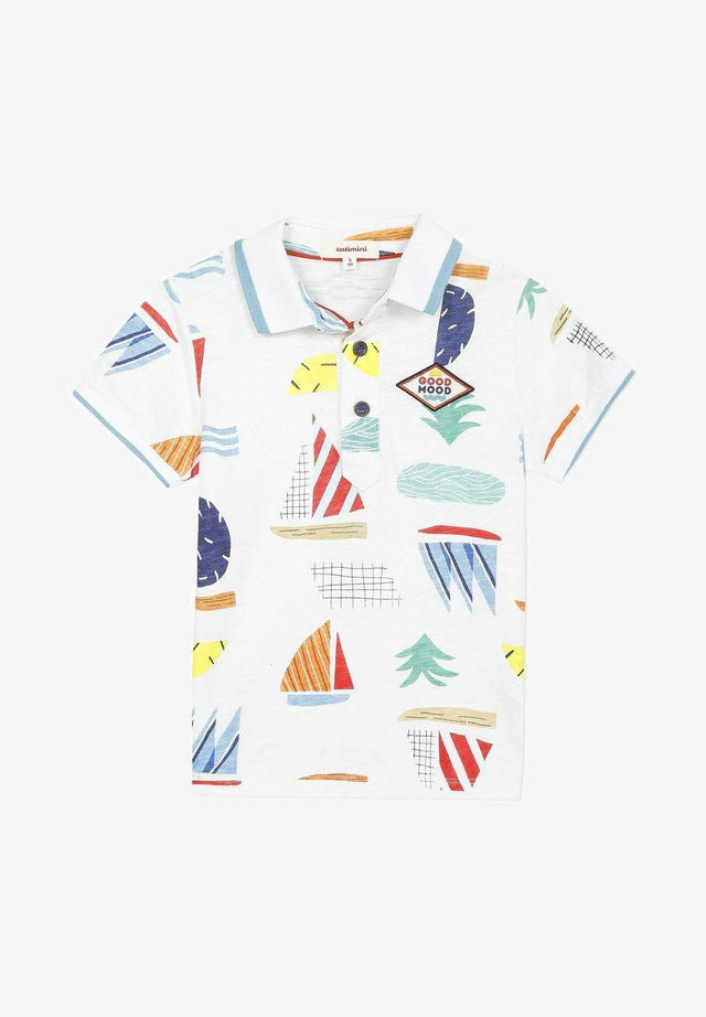 GRAPHIC - Poloshirt - white