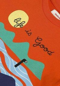 Catimini - SLOGAN - T-shirt imprimé - abricot - 2
