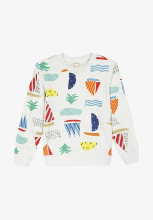 GRAPHIC - Pullover - white