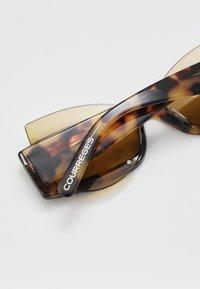 Courreges - Sluneční brýle - yellow - 4