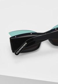 Courreges - Sluneční brýle - black - 4