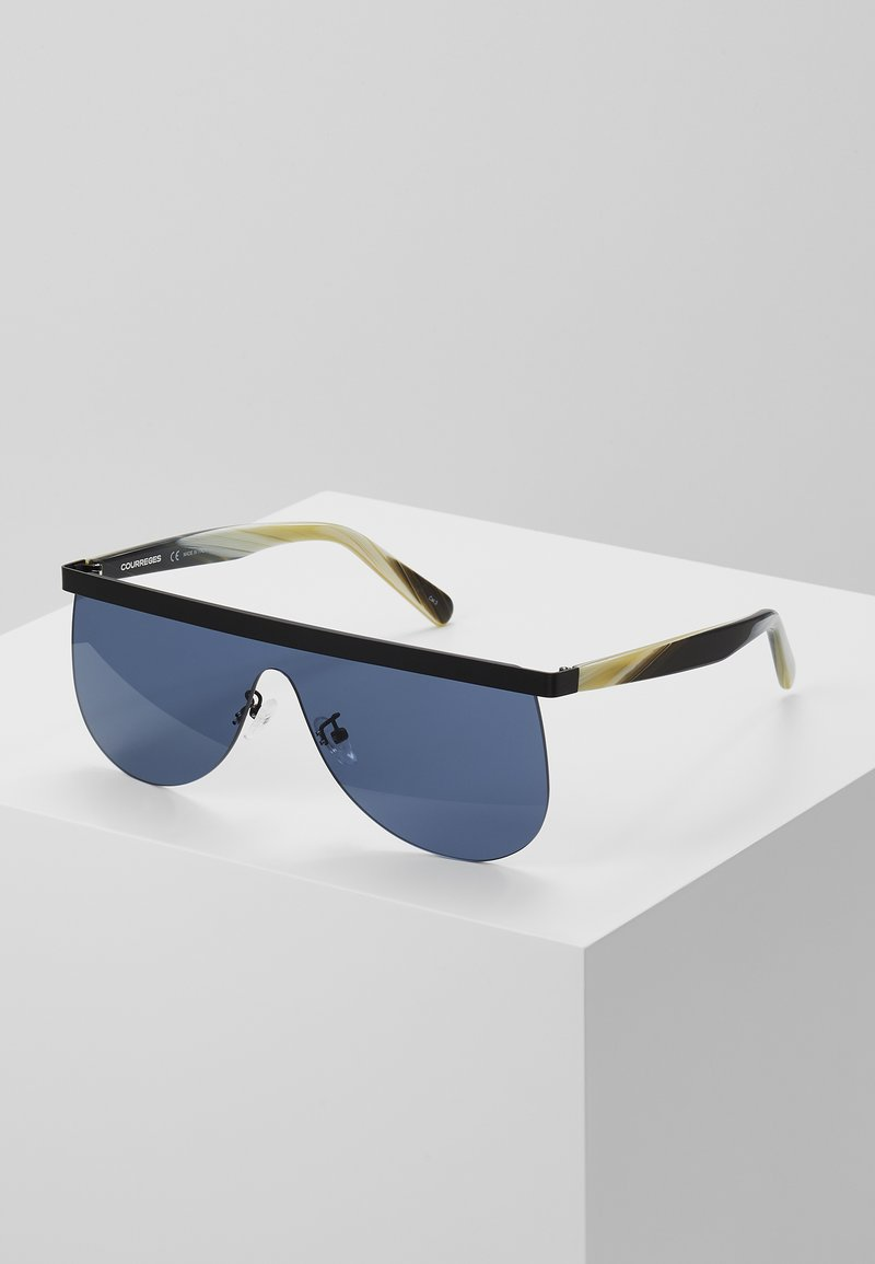 Courreges - Sluneční brýle - black/green/blue