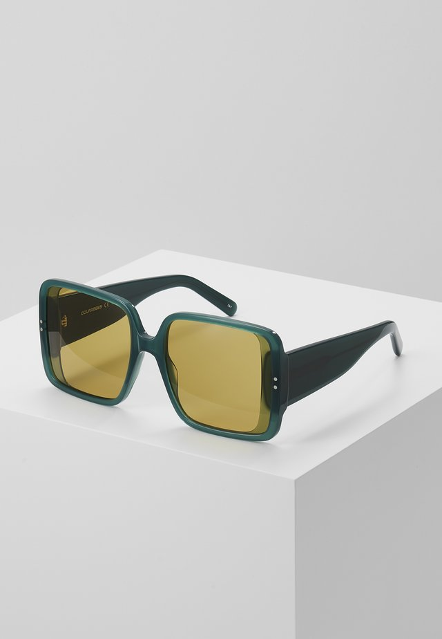 Sonnenbrille - green/brown