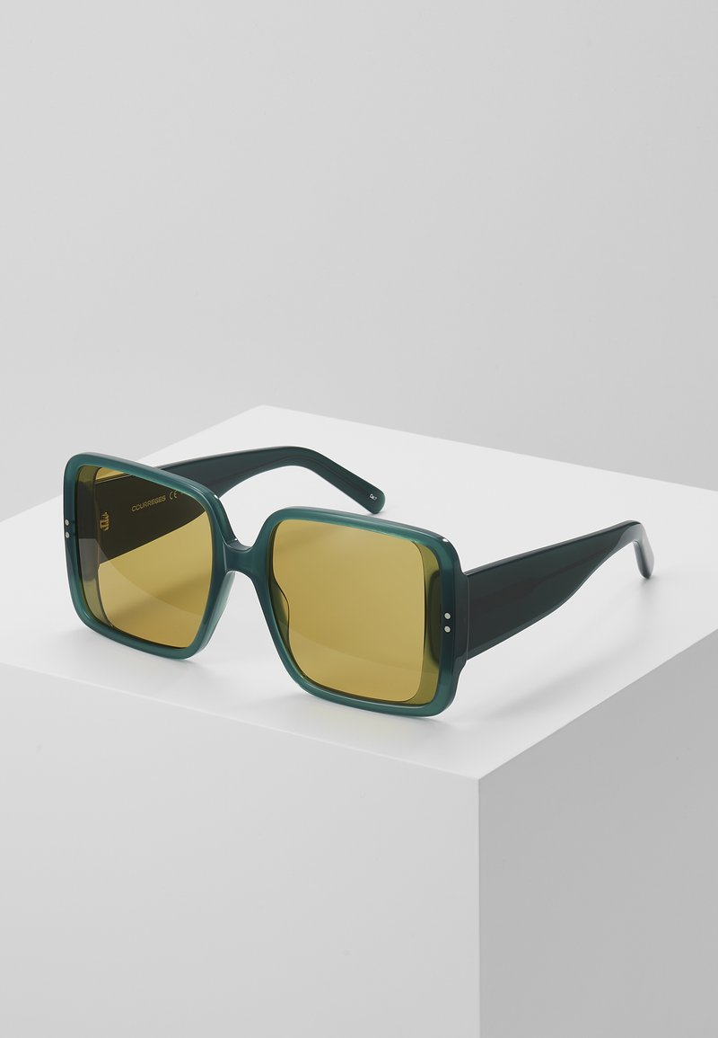 Courreges - Sonnenbrille - green/brown