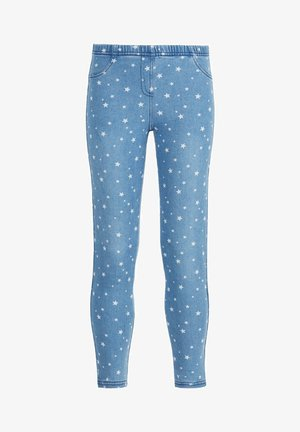 MIT STERNPRINT - Leggings - Trousers - blu jeans