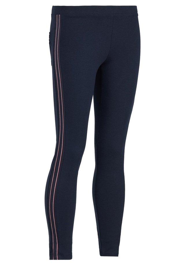 Leggings - Trousers - blu