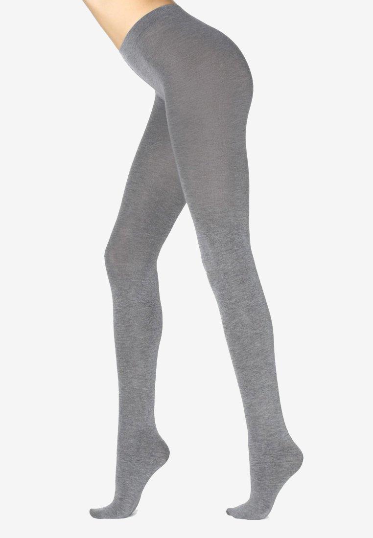 Calzedonia - MIT KASCHMIR - Tights - mottled grey