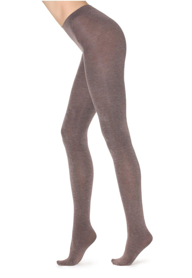 Calzedonia - MIT KASCHMIR - Tights -  light brown
