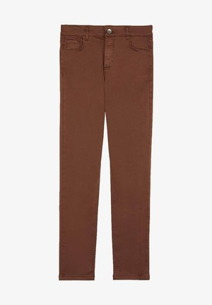SEXY SLIM-FIT JEANS IN HELLER WASCHUNG - Slim fit jeans - braun - 4661 - marrone