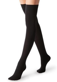 Calzedonia - Over-the-knee socks - black - 0