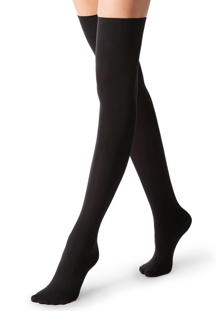 Calzedonia - Over-the-knee socks - black