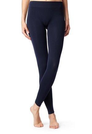 Leggings - Stockings - blue