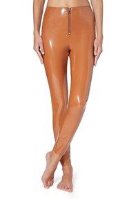 Calzedonia - Leggings - Stockings - brown - 0
