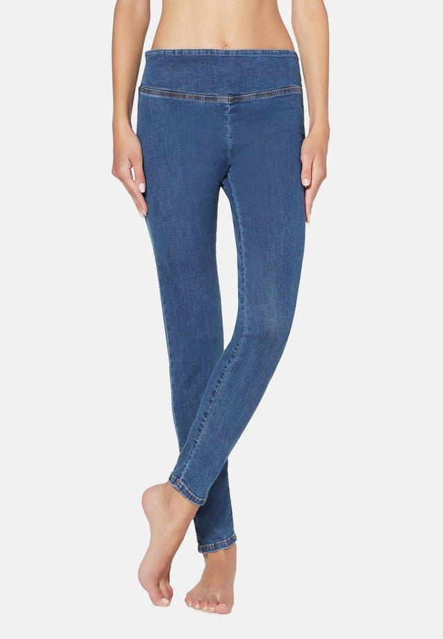 SKINNY-JEANS - Leggings - Trousers - blue