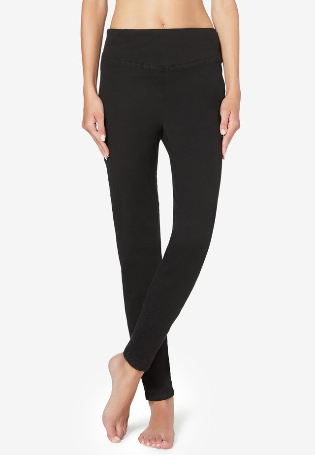 SKINNY-JEANS - Leggings - Trousers - black