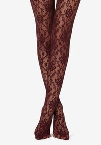 Calzedonia - Tights - bordeaux - 0
