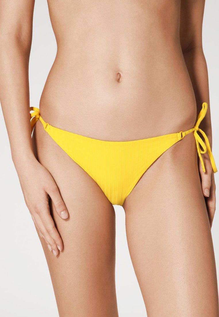Calzedonia - DIANA - Bikini-Hose - yellow