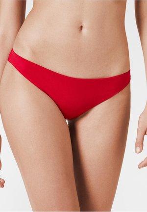 Bikini bottoms - hawaiian red