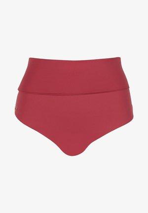 MIT UMSCHLAGBUND INDONESIA - Bikini bottoms - rot - 174c - sunset pink