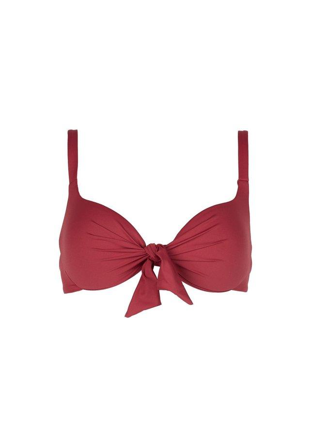 Bikini top - rot - 174c - sunset pink