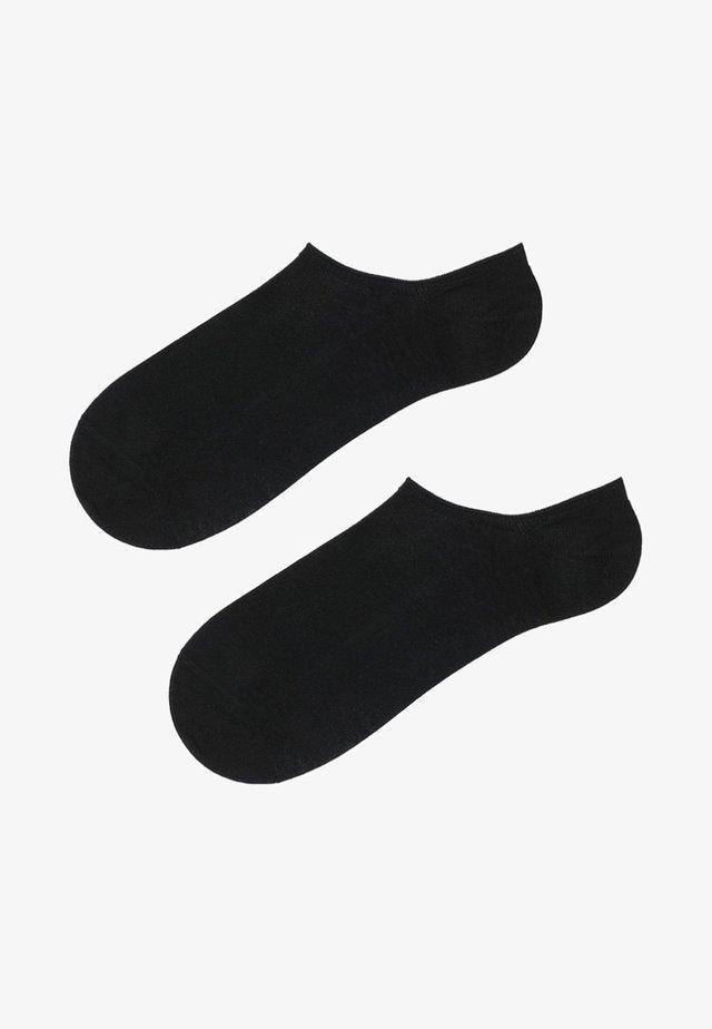BAUMWOLL-FÜSSLINGE - Socken - black