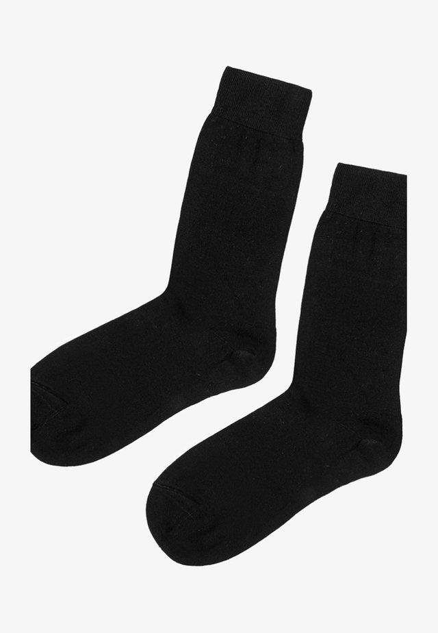 MIT KASCHMIR - Socken - black