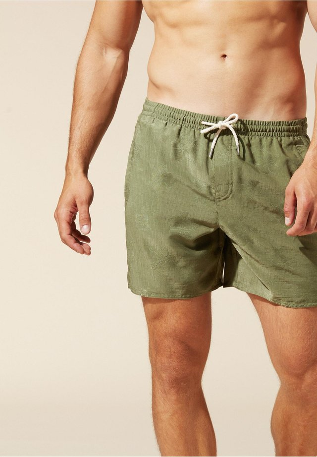 Shorts - grün - 242c - snake green
