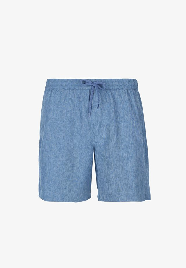 Swimming shorts - blau - 245c - denim blue melange