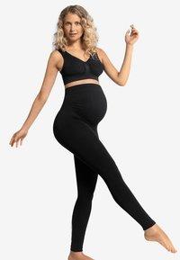 Carriwell - MATERNITY SUPPORT - Leggings - Stockings - black - 1