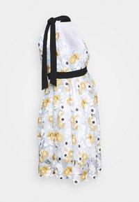 Chi Chi London Maternity - CHESTER DRESS - Sukienka letnia - blue - 1