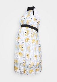 Chi Chi London Maternity - CHESTER DRESS - Sukienka letnia - blue - 0